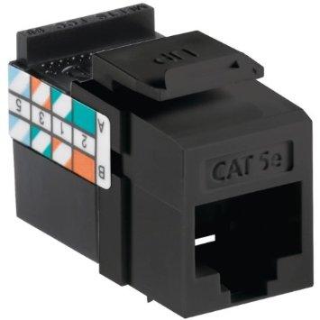 Prise Cat5e Noir