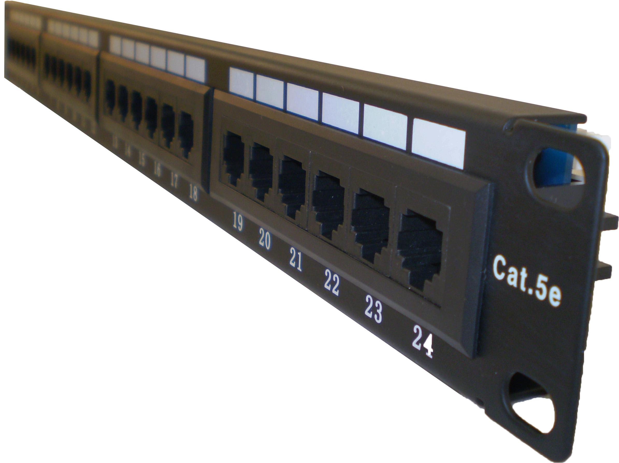 Ovaltel Acton Cabling Solution Pp245e 1 Patch Panel 24 Ports Cable Solutions Cat5e Cables Port Cat 5e