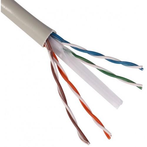 Ovaltel c ble 4 paires cat 6 blanc - Cable ethernet categoria 6 ...